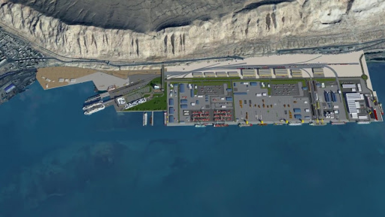 TURKMENBASI INTERNATIONAL PORT